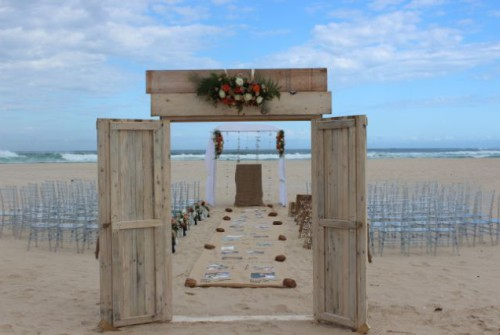 Genie, had her dream wedding at Cape St. Francis Resort
